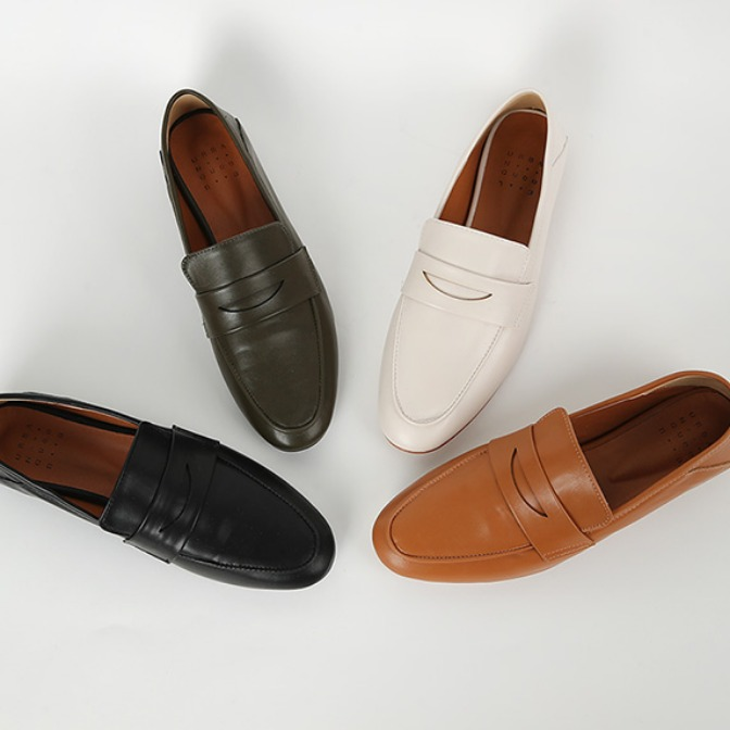 Urban two-way penny loafer