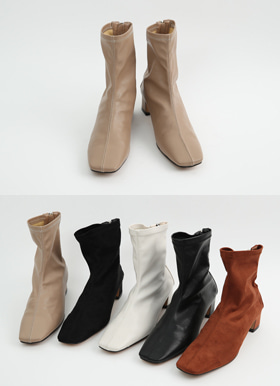 Daily ankle socks boots(기모)