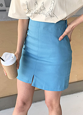 Tulip h-line mini skirt